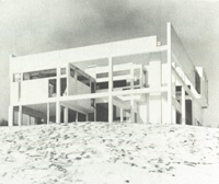 Peter Eisenman, Falk House, Hardwick, Vermont (Cardboard Architecture House II), 1969-70. - ZOOM