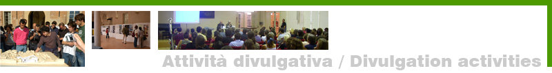 UAL Attività divulgativa / Divilgations activity