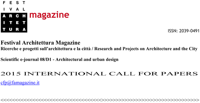 FAmagazine. Research and project on architecture and city